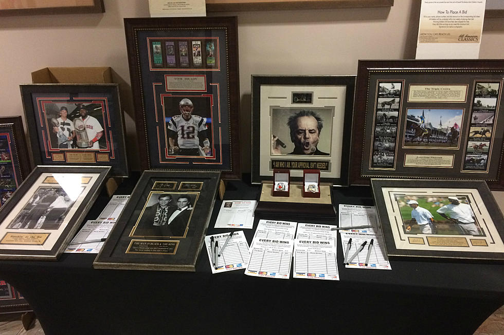 Check Out These Great Items Up For Grabs In This Silent Auction