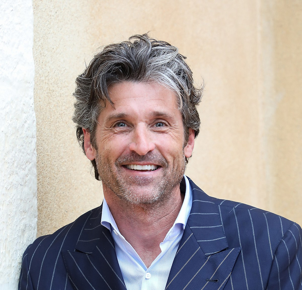 Maine's Patrick Dempsey Says #WearAMask With Classic Grey ...