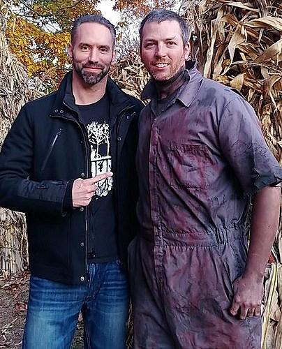 'Ghost Adventures' Star Nick Groff Seen at New England Haunt