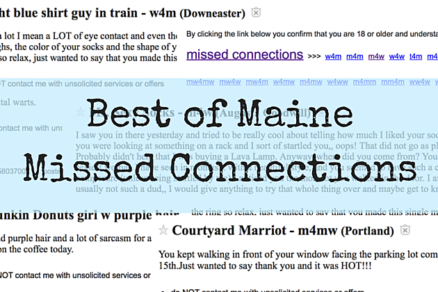 8 Missed Connections Ads on Maine Craigslist Will Make You