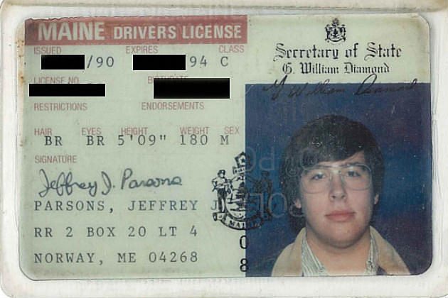 photos Jeff's 1986 From Licenses See Driver's To Today
