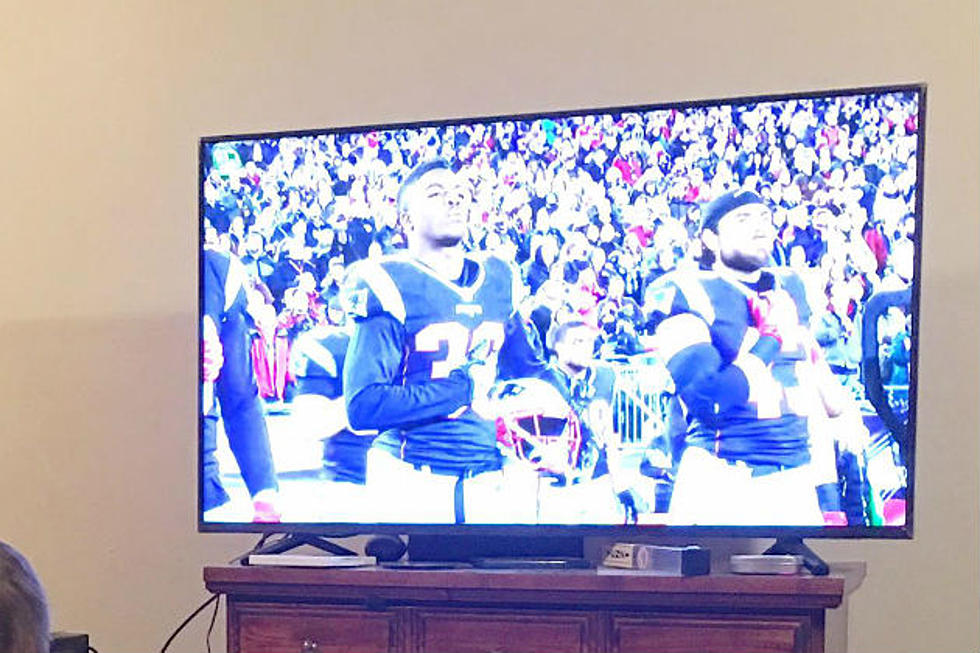 What These Two Boys From Biddeford Did While Watching the Patriots