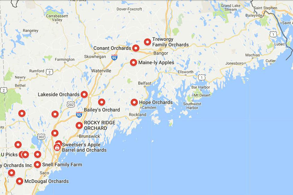 This Interactive Map Will Help You Plan Your Maine Apple Picking