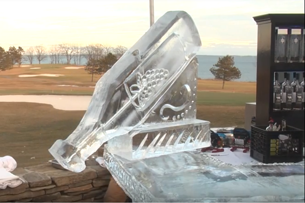 The 2018 Ice Bar Lounge Opens This Weekend In Rockland