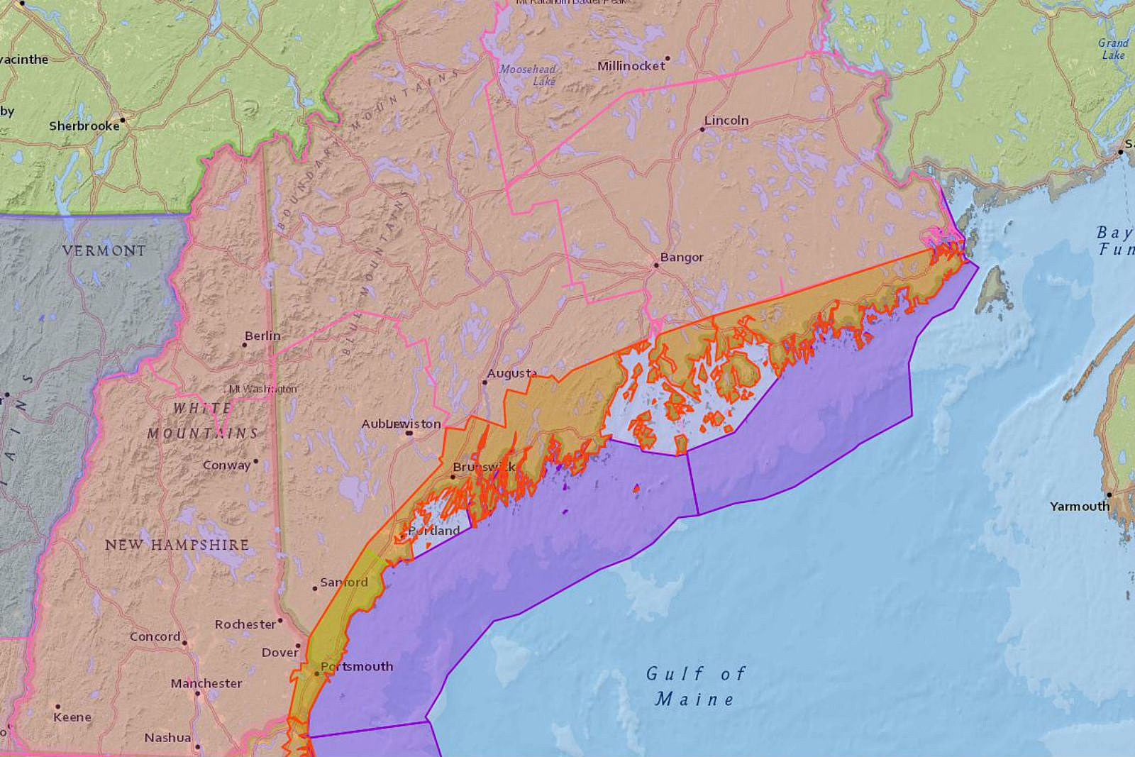 Cmp S Updated List Of Power Outages In Maine