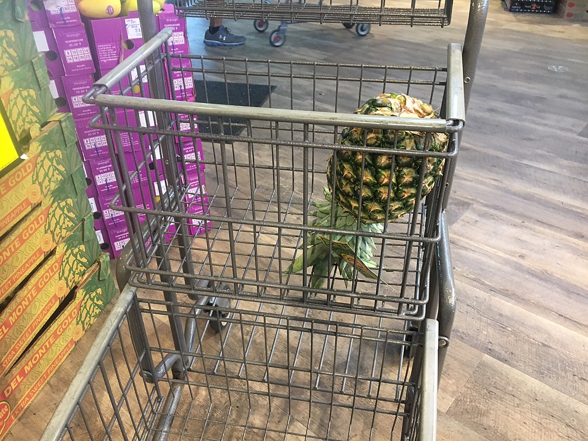 Have You Tried the Pineapple Trick While Grocery Shopping?