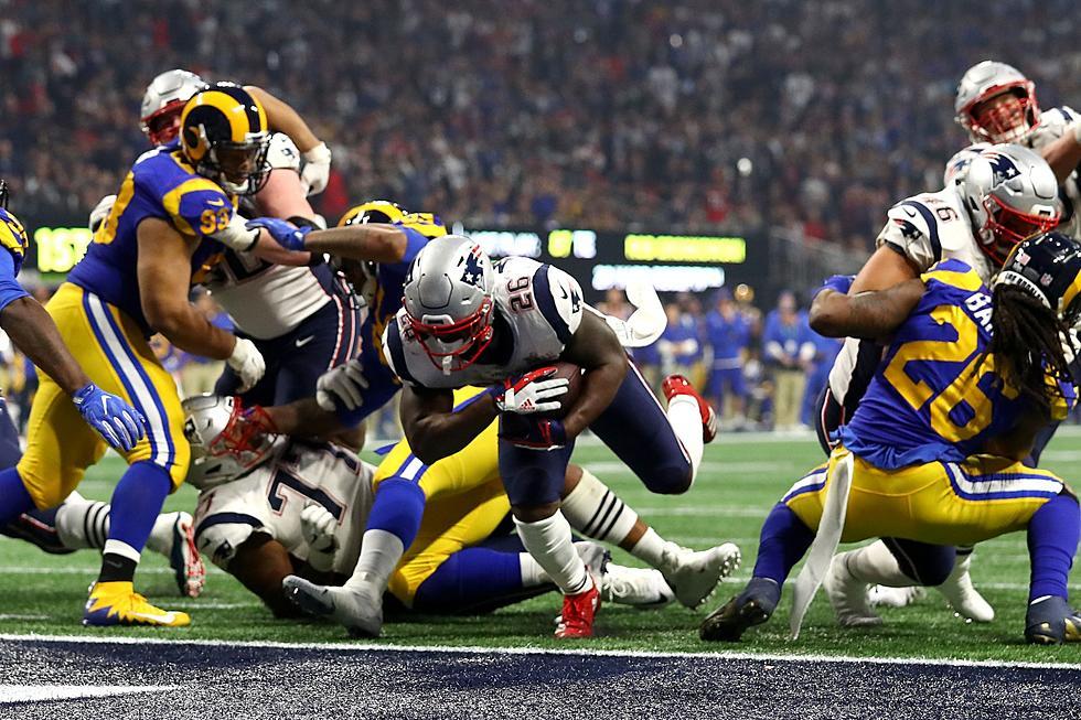 Resultado de imagem para sony michel patriots super bowl touchdown