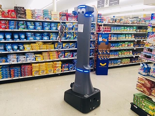 Googly-Eyed Robots Have Taken Over New England Grocery Stores