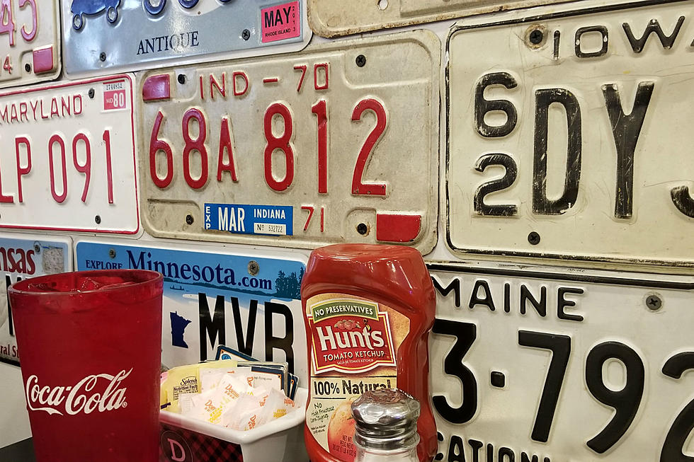 This Maine Diner's Walls Are Covered With License Plates