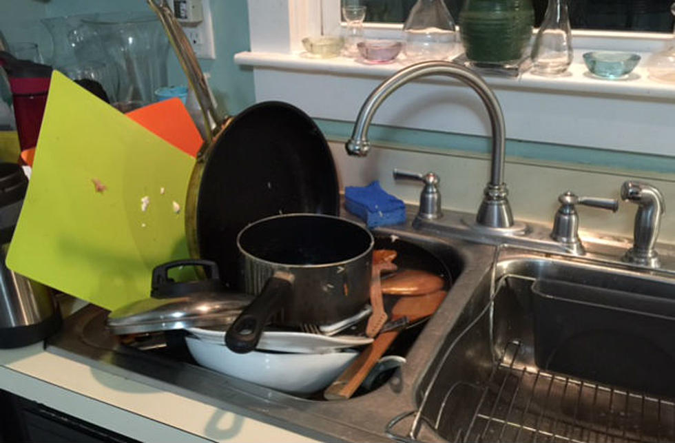 Pleasant Dishes In The Kitchen Sink Keeping You Up Interior Design Ideas Clesiryabchikinfo