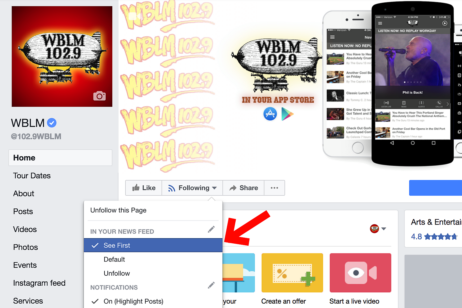 Seeing Less Facebook Posts from WBLM? Here's Why, How to Fix It