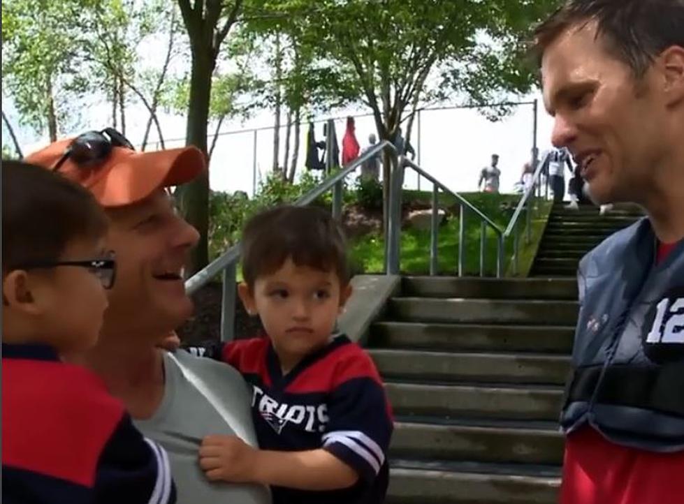 Best Video Of The Week: Twins Named Tom and Brady Meet Tom Brady