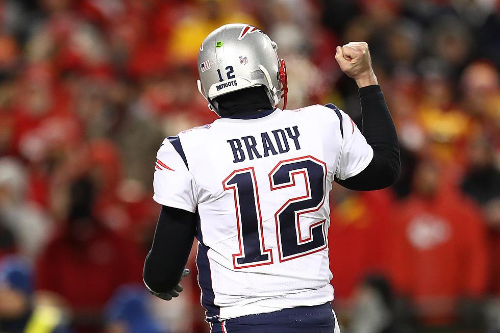 super popular 56b4e 1d77a Even Tom Brady's Jersey Sets GOAT Records
