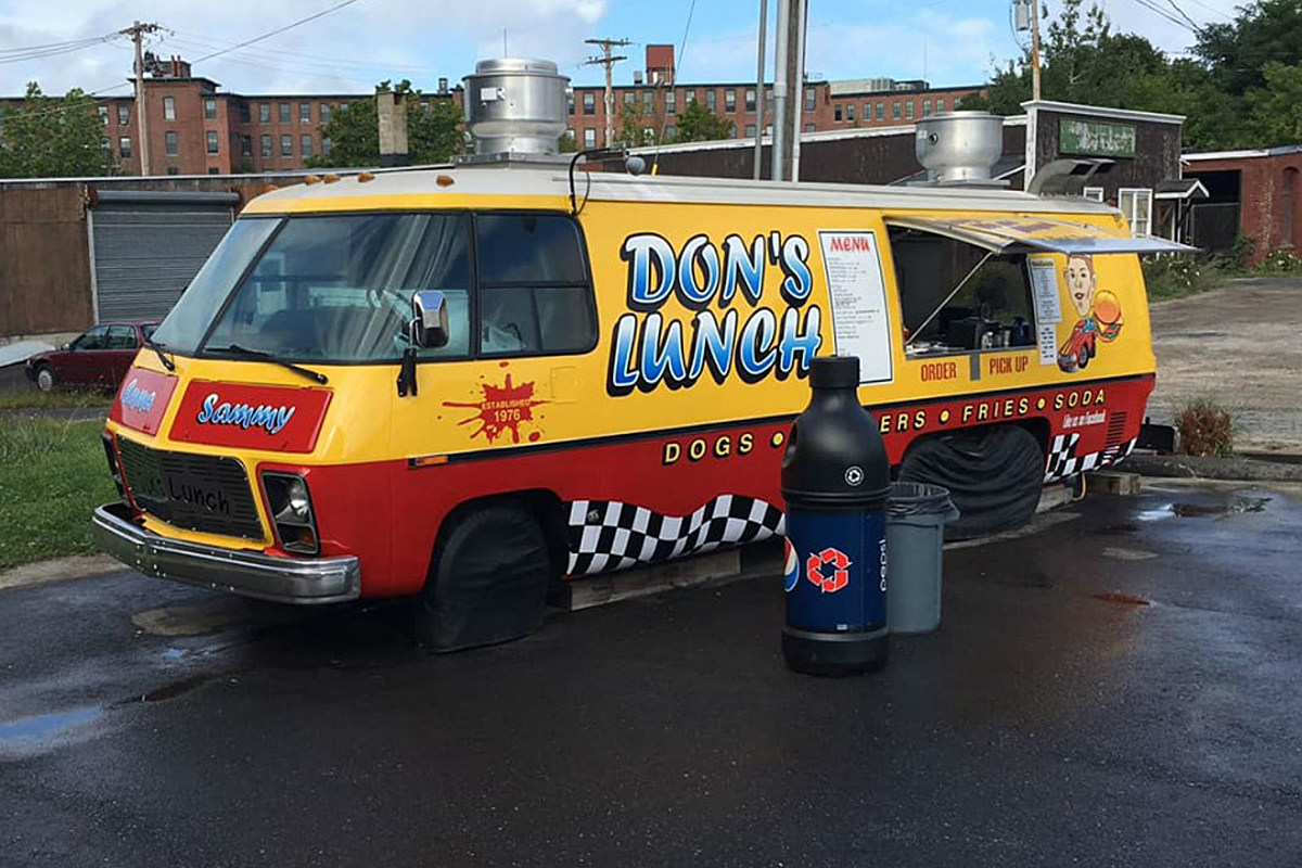 THE ICONIC MAINE FOOD TRUCK DON'S LUNCH IS FOR SALE ONCE AGAIN