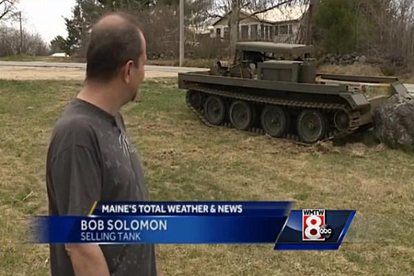 Only In Maine; Cornish Man Sold Vietnam Era Tank on Craigslist