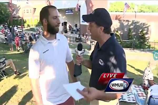 Shark In The Park Featured On WMUR's 'Weather Wednesday's'