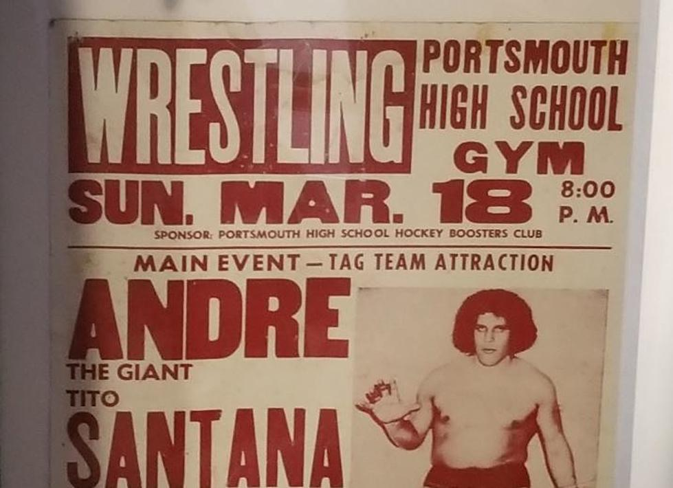 Andre The Giant Wrestled in Portsmouth NH?
