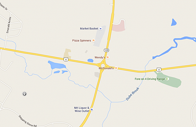 The 13 Worst Intersections in New Hampshire Map Of Roads Epping Nh on