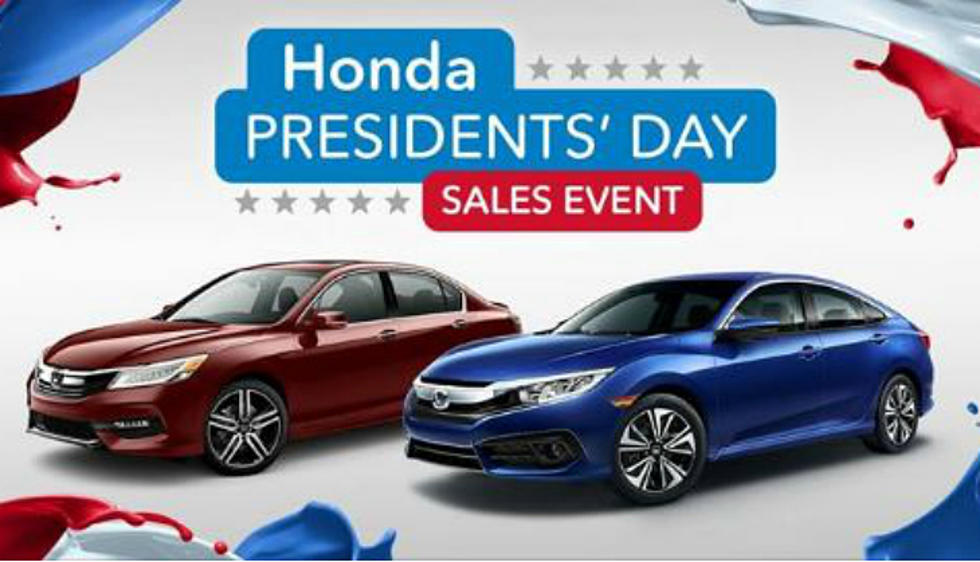 Presidents Day Car Sales 2017 >> Check Out The Amazing President S Day Deals At The Honda
