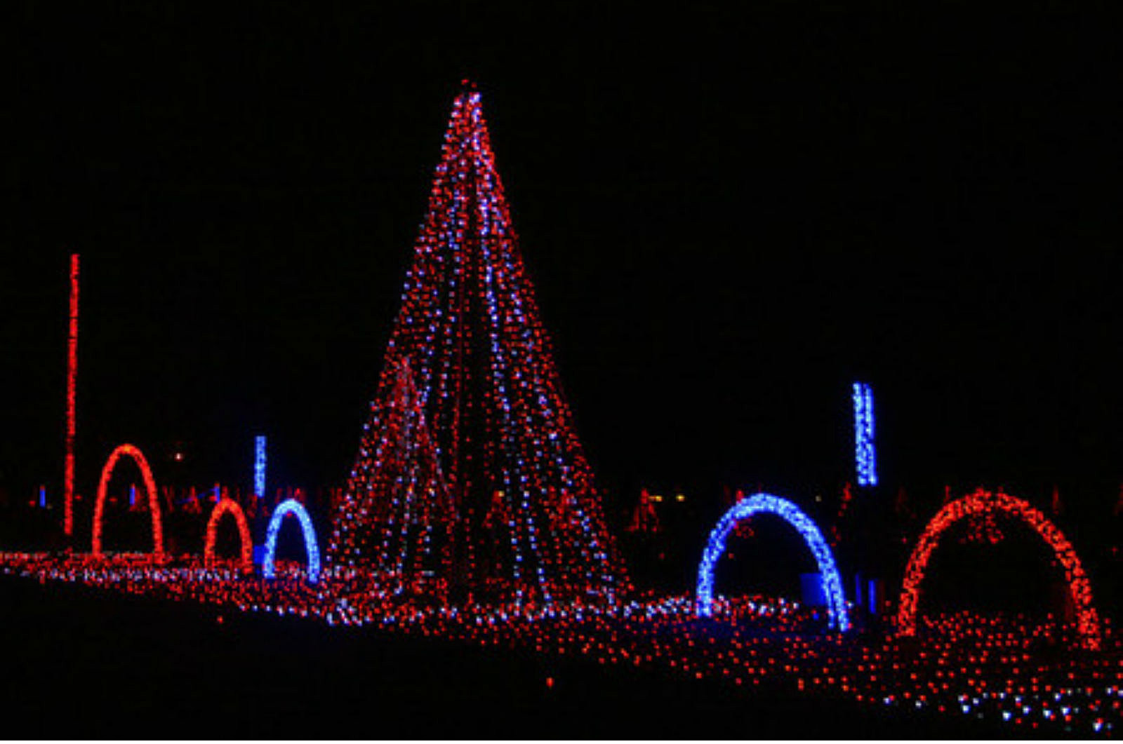 New Hampshire Motor Speedway's 'Gift of Lights' Spectacular Is a Must See Holiday Light Show