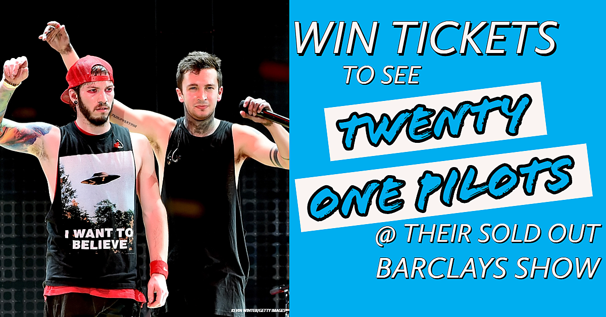 Win Tickets To See The Sold Out 21 Pilots Show At Barclays