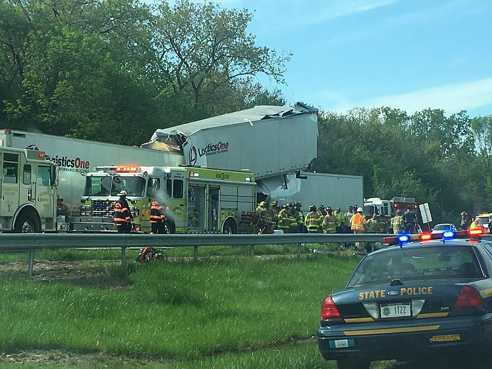 Dramatic Photos Show The Aftermath Of NYS Thruway Accident