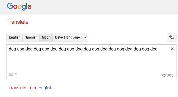 English To Italian Translator Google: Type This Word Into Google Translate For A Really Creepy