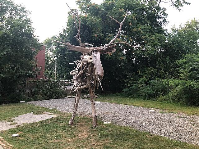 Can We Address The Giant Wooden Moose in Downtown Beacon?