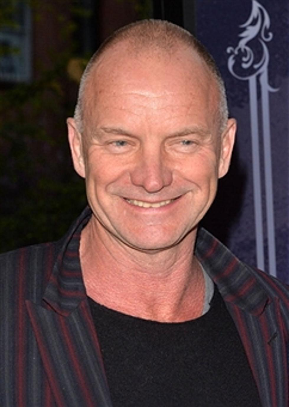 Thursday October 2nd Happy Birthday Sting