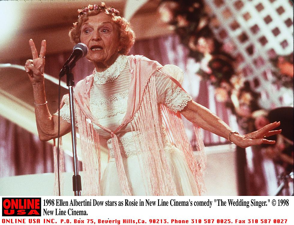 Wedding Singer Song.The Rapping Granny From The Wedding Singer Has Died