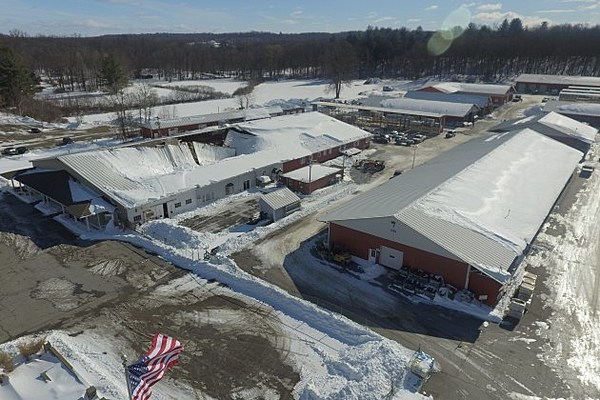 Williams Lumber Yard Reopens After Roof Collapse