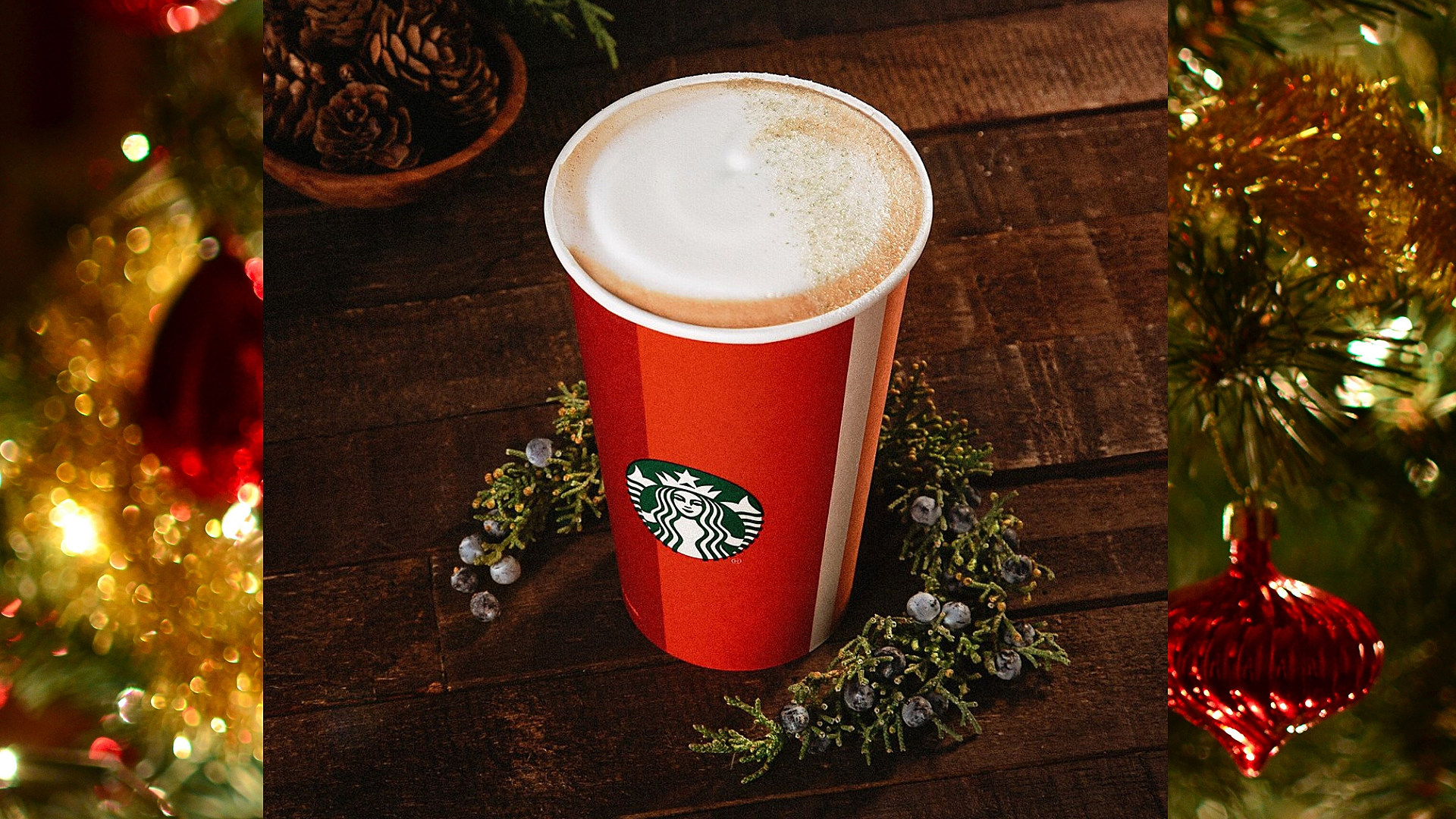Starbucks Christmas.Starbucks New Holiday Drink Tastes Like A Christmas Tree Video