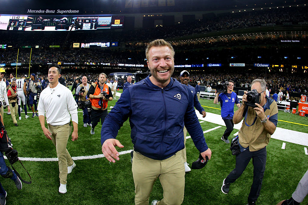 La Rams Head Coach Has The Weirdest Assistant Ever