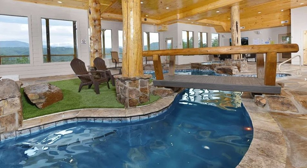 Stay In Pigeon Forge Cabins With Private Indoor Pools