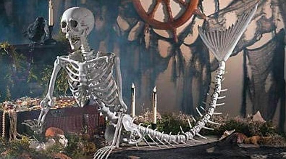 Envy Se Halloween 2020 Life Size Mermaid Skeleton Will Make Your Yard Neighborhood Envy