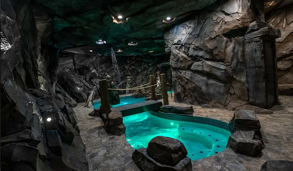 This Pigeon Forge Cabin Has An Unbelievable Indoor Cavern Pool