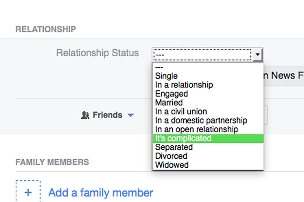 Half of People Have Lied About Their Relationship Status on