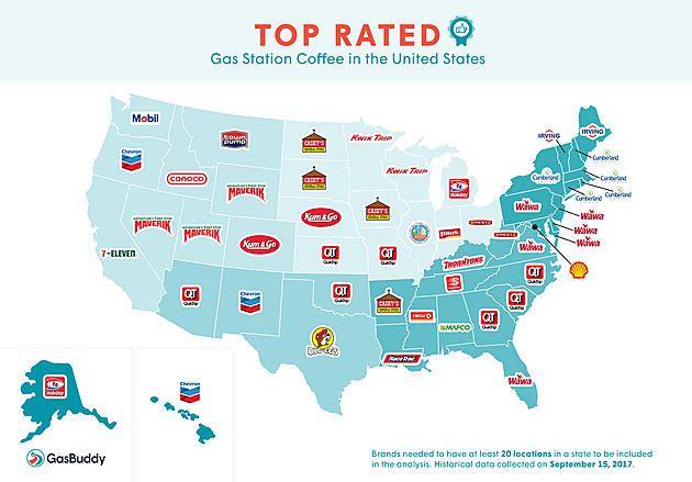 The Best Gas Station Coffee in Each State
