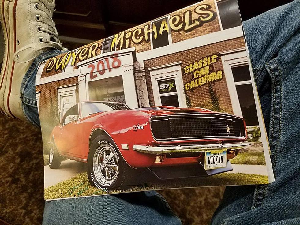 2018 Classic Car Calendar Locations!