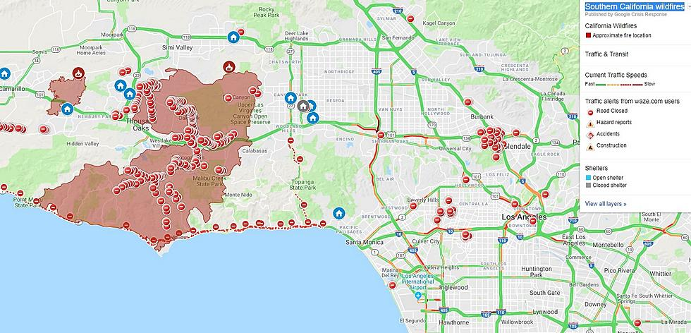 Map Of California Malibu.My Brother S Picture Shows You Just How Huge The Malibu Fire Is