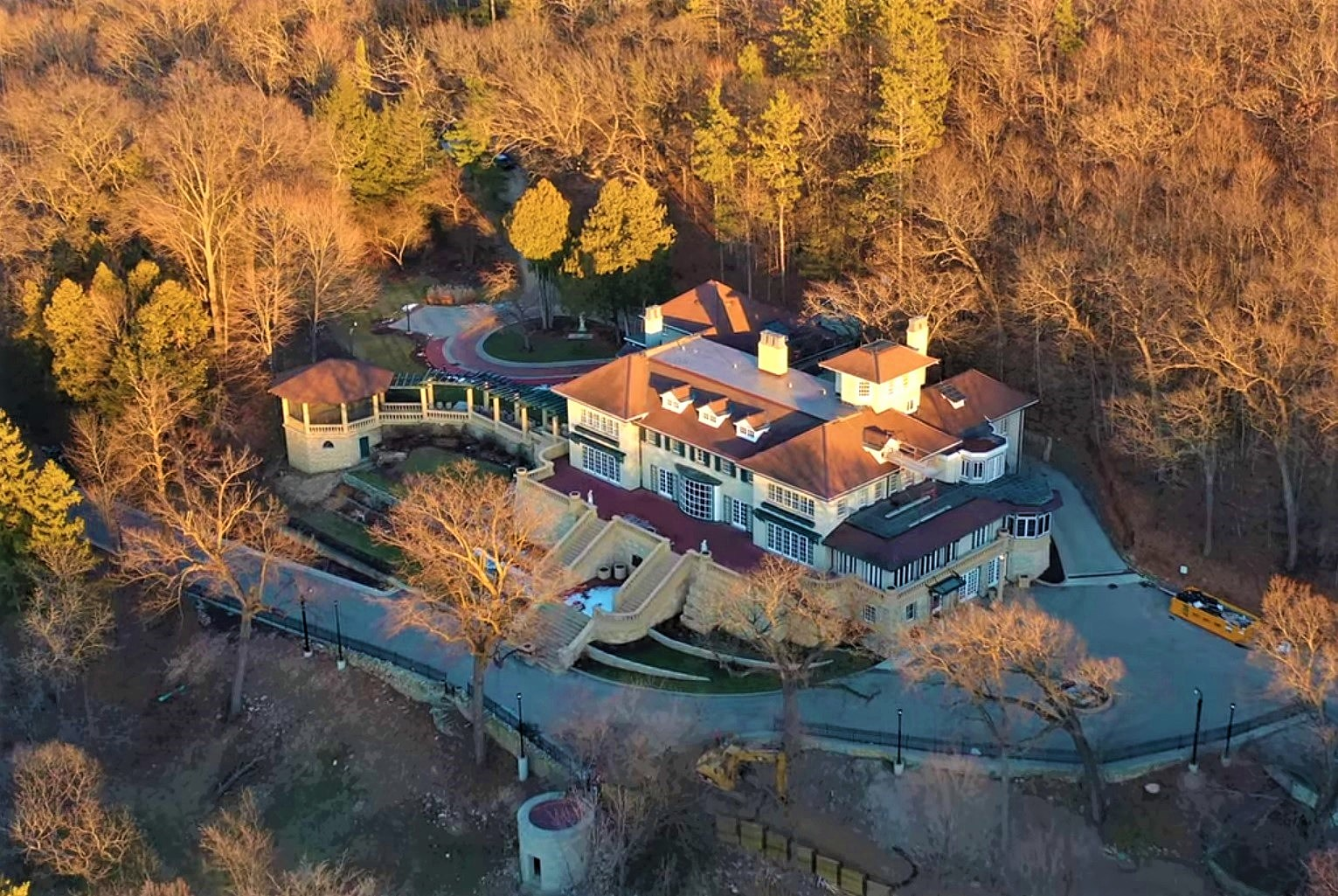 Mayowood Christmas Tours 2021 Mayowood Mansion Like You Ve Never Seen It Before From Above