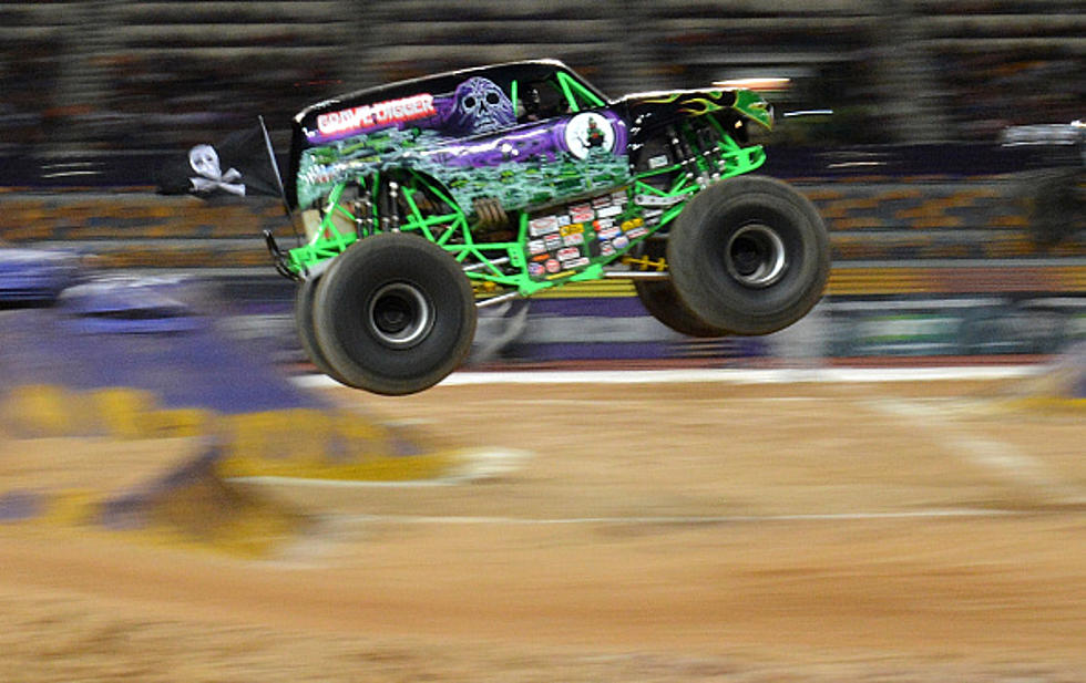 Get Up Close And Personal With Gravedigger From Monster Jam Video