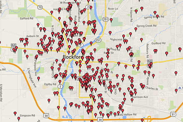 Where Not To Trick or Treat in Rockford; Offender Maps on