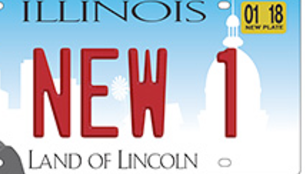 Illinois Has New License Plates And They're Weird Looking