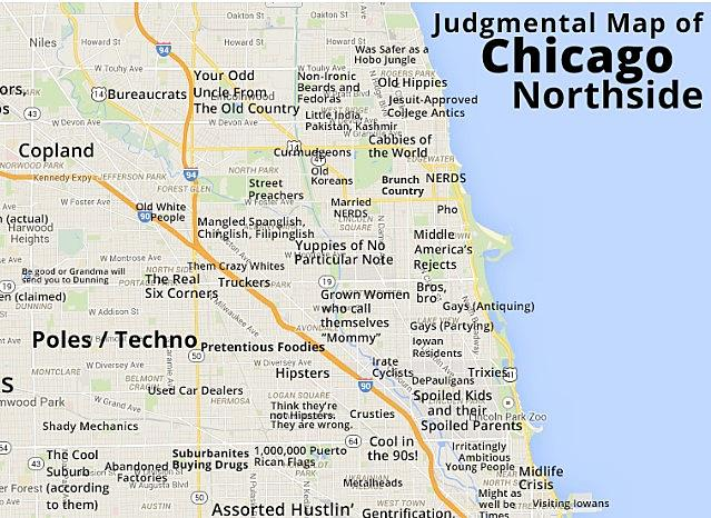 What Would a \'Judgemental Map\' of Rockford Look Like?