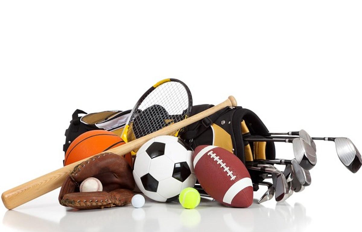 Картинки спортивных принадлежностей