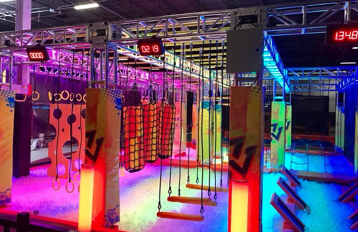 The Most Amazing Indoor Adventure Park Is Just An Hour Away From