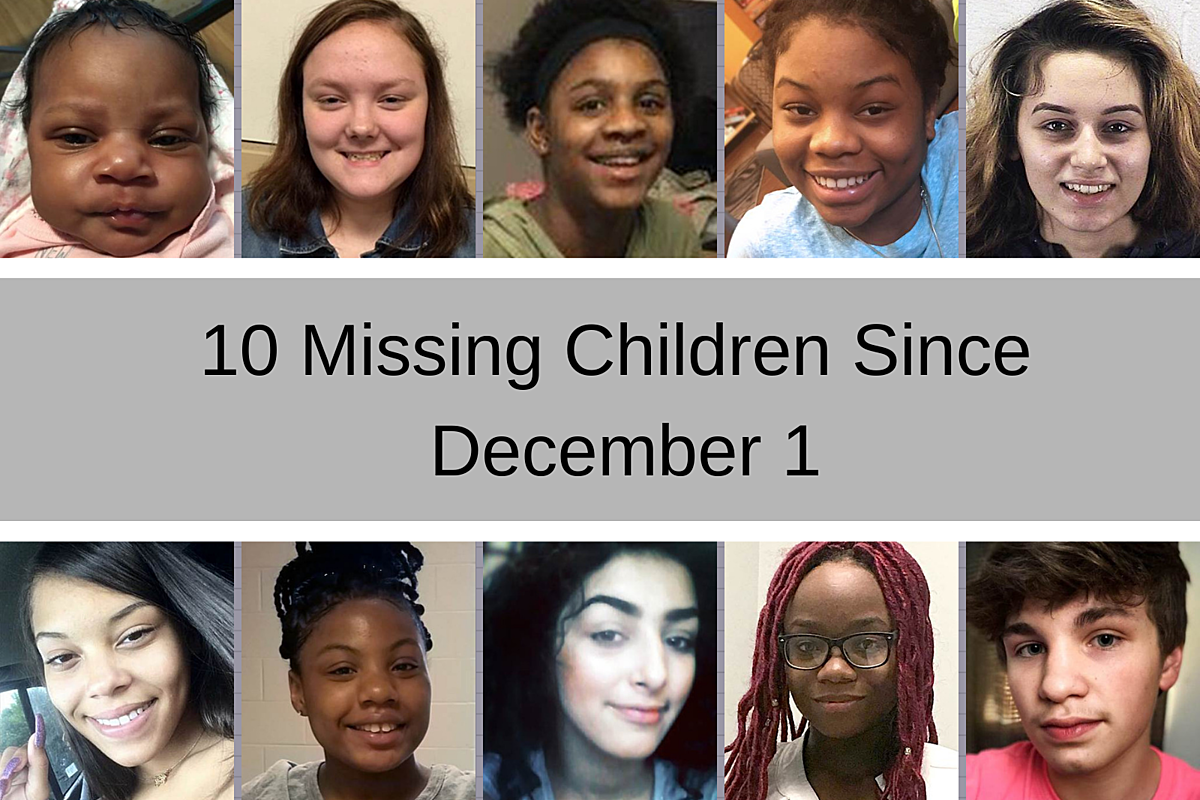 10 Children Missing in Illinois Since December 1st