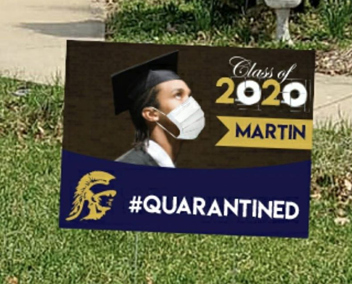 Wisconsin Party Store Selling Customized Graduation Yard Signs