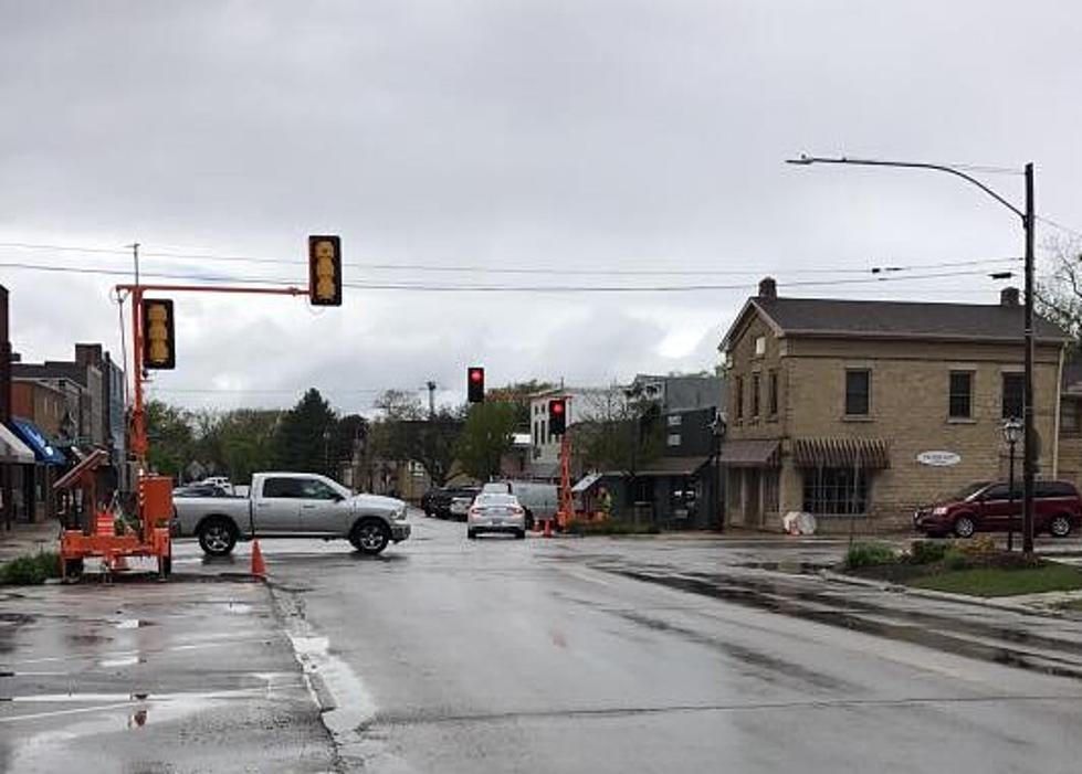 Downtown Rockton Adds Traffic Lights